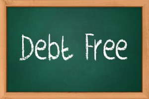 How can I be debt free